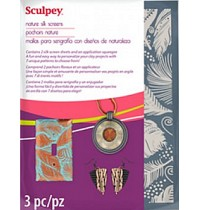 Sculpey Silk Screens Nature