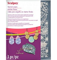 Sculpey Silk Screens Floral