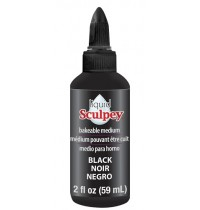Sculpey Liquid Polymer Clay Black