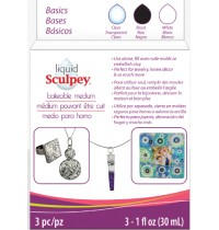 Sculpey Liquid Polymer Clay Basic Set
