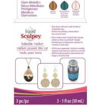 Sculpey Liquid  Glam Metallics Multipack