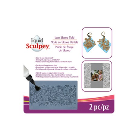 Sculpey® Silicone Bakeable Mold Lace
