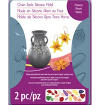 Sculpey® Silicone Bakeable Mold Flowers