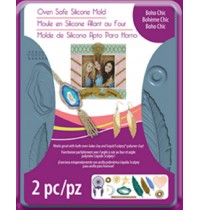 Sculpey® Silicone Bakeable Mold Boho Chic