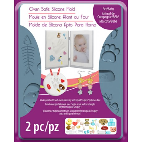 Sculpey® Silicone Bakeable Mold Pet / Baby
