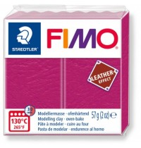 Fimo Leather Effect Berry