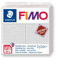 Fimo Leather Effect Ivory