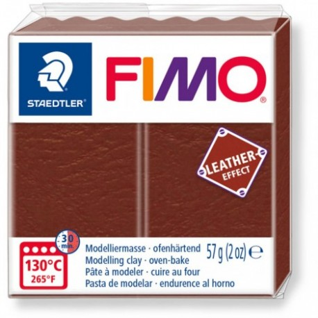 Fimo Leather Effect Nut