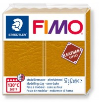 Fimo Leather Effect Ochre