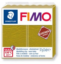 Fimo Leather Effect Olive