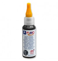 Fimo Blacck Liquid Deco Gel