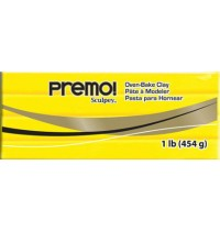 Premo Sculpey Cadmium Yellow 454g  *OUT OF STOCK*