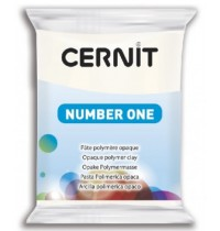Cernit Number One Opaque White *OUT OF STOCK*
