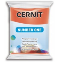 Cernit Number One Poppy Red *1 in Stock*