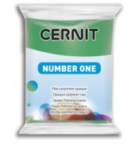 Cernit Number One Green *1 in Stock*