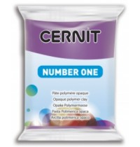 Cernit Number One Mauve *1 in Stock*