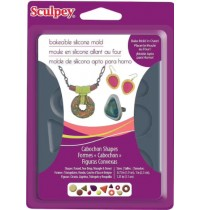 Sculpey® Silicone Bakeable  Bezel Shapes Mold