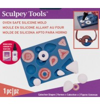 Sculpey® Silicone Bakeable Cabochon Shapes Mold