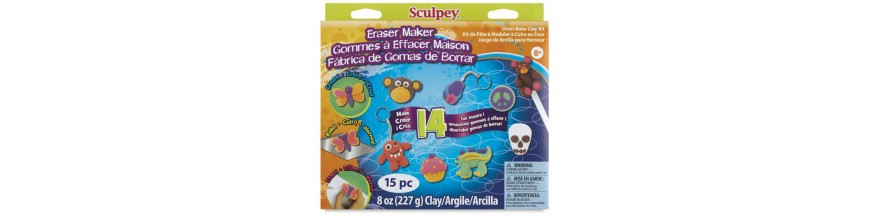 Sculpey Eraser Clay