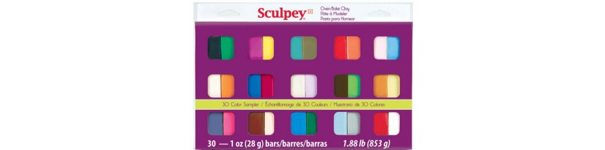Sculpey Sampler Packs